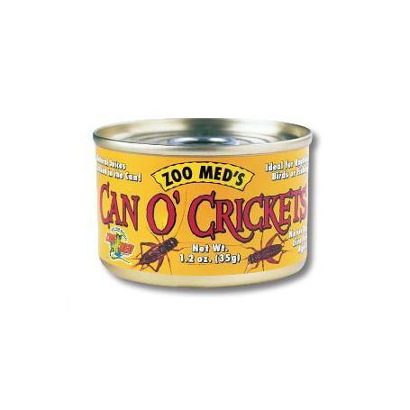 Can O Crickets Grilli Essiccati