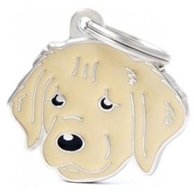 Medaglietta per Cani Golden Retriever