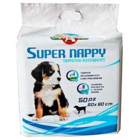 Tappetino Super Nappy 60X60 10Pz
