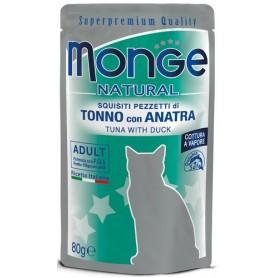 Monge Cat Buste Tonno Con Anatra 80Gr