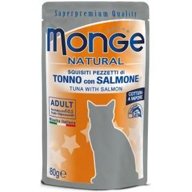 Monge Cat Buste Tonno Con Salmone 80Gr
