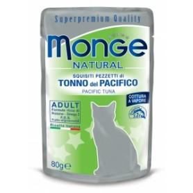 Monge Cat Buste Tonno a Pinne Gialle 80Gr