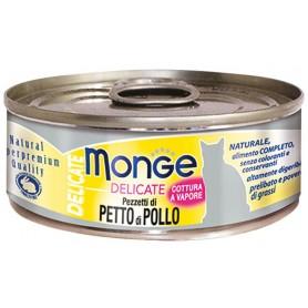Monge Cat Delicate Petto Di Pollo 80Gr