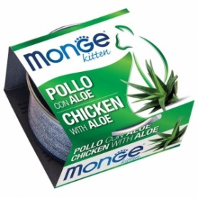 Monge Cat Kitten Pollo Con Aloe 80Gr