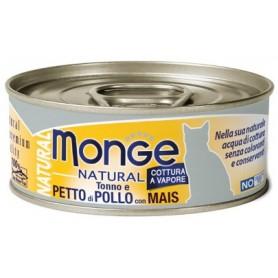 Monge Cat Petto Di Pollo Con Mais 80Gr
