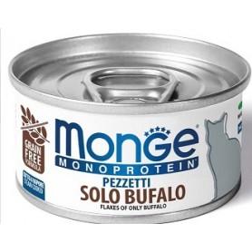 Monge Cat Pezzettii Monoproteico Bufalo 80Gr