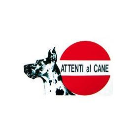 Cartello Attenti Al Cane Alano