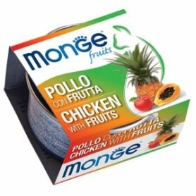 Monge Cat Pollo Con Frutta 80Gr