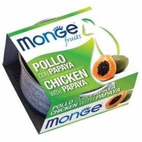 Monge Cat Pollo Con Papaya 80Gr