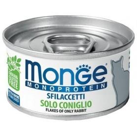 Monge Cat Sfilaccetti Monoproteico Coniglio 80Gr