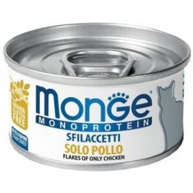 Monge Cat Sfilaccetti Monoproteico Pollo 80Gr