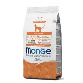 Monge Cat Sterilised Anatra 10Kg