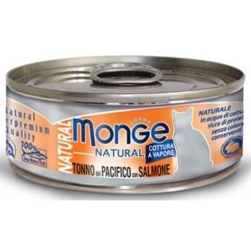 Monge Cat Tonno Del Pacifico Con Salmone 80Gr
