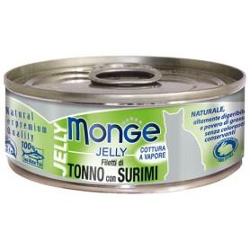Monge Cat Tonno E Surimi Jelly 80Gr
