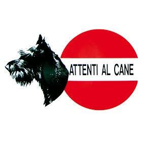 Cartello Attenti Al Cane Schnauzer
