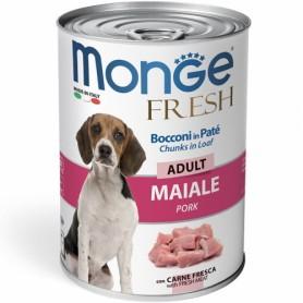 Monge Dog Fresh Adult Maiale 400Gr