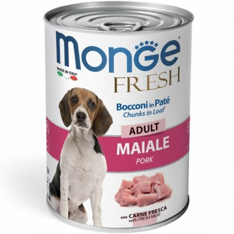 Monge Dog Fresh Adult Maiale 400Gr