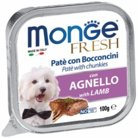 Monge Dog Fresh Agnello 100Gr