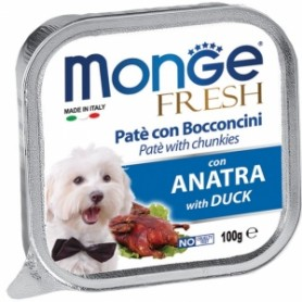 Monge Dog Fresh Anatra 100Gr