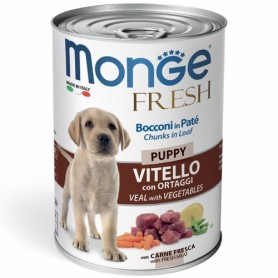 Monge Dog Fresh Puppy Vitello E Ortaggi 400Gr