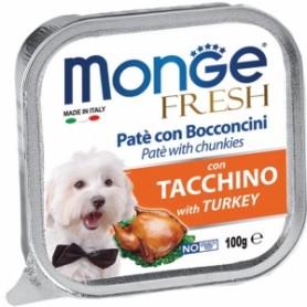 Monge Dog Fresh Tacchino 100Gr