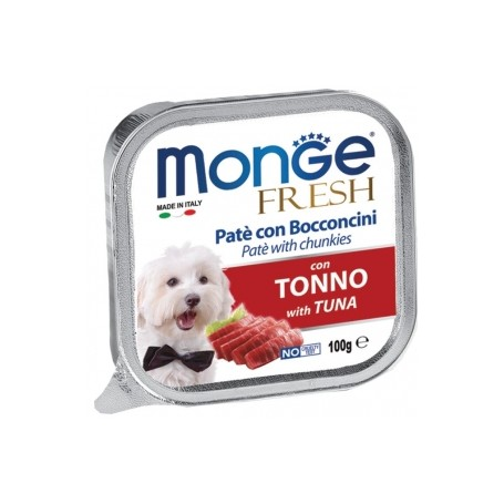 Monge Dog Fresh Tonno 100Gr