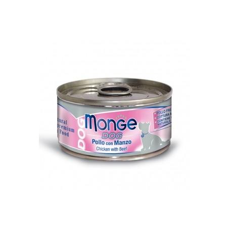 Monge Dog Natural Pollo Con Manzo 95Gr