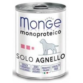 Monge Dog Pate' Monoproteico Agnello 400Gr