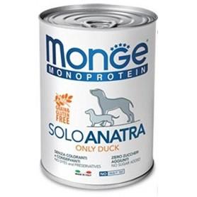 Monge Dog Pate' Monoproteico Anatra 400Gr