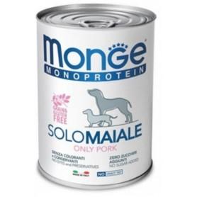Monge Dog Pate' Monoproteico Maiale 400Gr