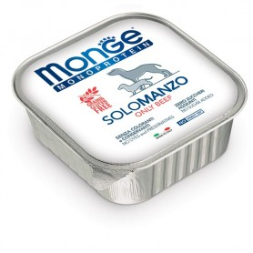 Monge Dog Pate' Monoproteico Manzo 150Gr