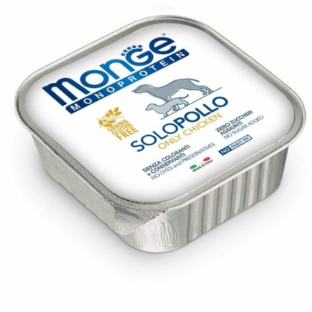 Monge Dog Pate' Monoproteico Pollo 150Gr
