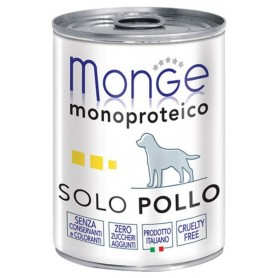 Monge Dog Pate' Monoproteico Pollo 400Gr