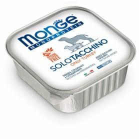 Monge Dog Pate' Monoproteico Tacchino 150Gr