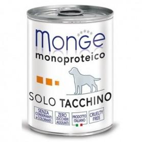 Monge Dog Pate' Monoproteico Tacchino 400Gr