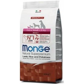 Monge Extra Small Adult Agnello Riso e Patate 2,5Kg