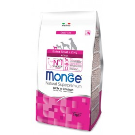 Monge Extra Small Adult Pollo 3Kg