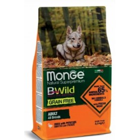 Monge Grain Free All-Breeds Anatra-Patate 2,5Kg