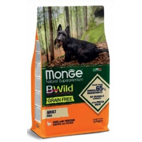 Monge Grain Free Mini Adult Anatra E Patate 2,5Kg