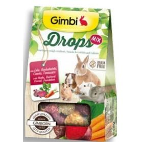 Snack Per Roditori Gimbi Drops Erbe Di Campo 50Gr