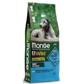 Monge BWild Grain Free All-Breeds Acciuga-Patate-Piselli 12Kg
