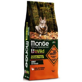 Monge BWild Grain Free All-Breeds Anatra-Patate 12Kg