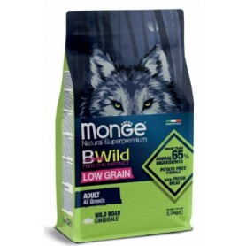 Monge BWild Low Grain Dog Adult All Breed Cinghiale 2,5Kg
