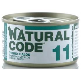 Natural Code 11 Tonno e Aloe 85Gr