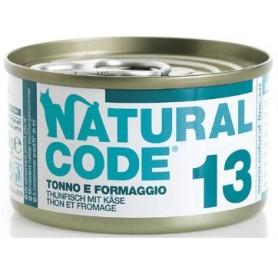 Natural Code 13 Tonno e Formaggio 85Gr