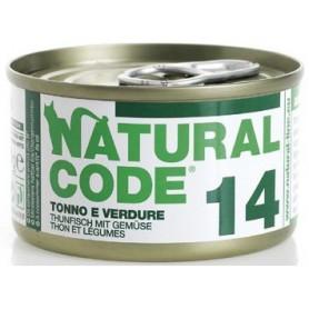 Natural Code 14 Tonno e Verdure 85Gr
