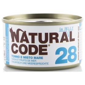 Natural Code 28 Tonno e Misto Mare in Jelly 85Gr