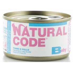 Natural Code Baby Kitten Tonno e Pollo 85Gr