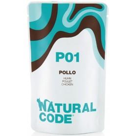 Natural Code P01 Bustine Gatto Pollo