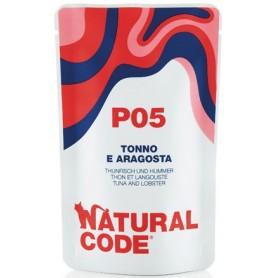 Natural Code P05 Bustine Gatto Tonno e Aragosta 70Gr